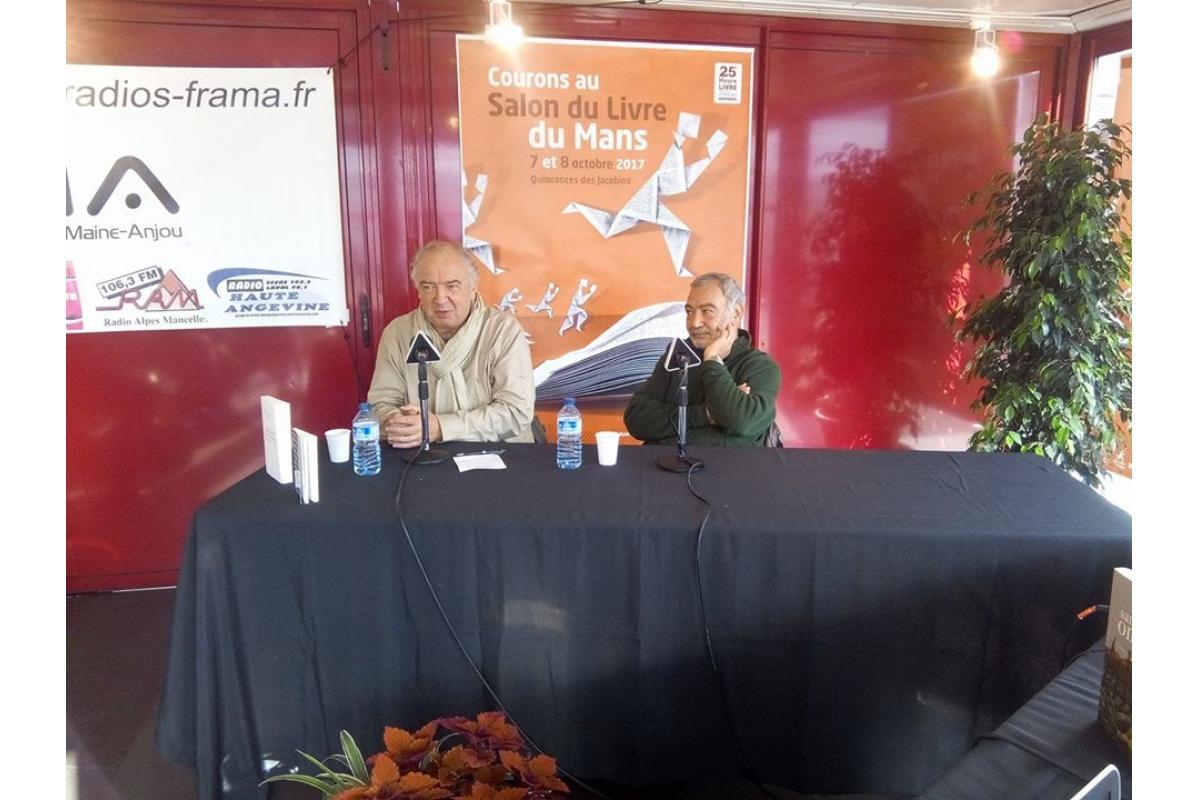 Jean-Pierre Perrin et Ali Erfan.
