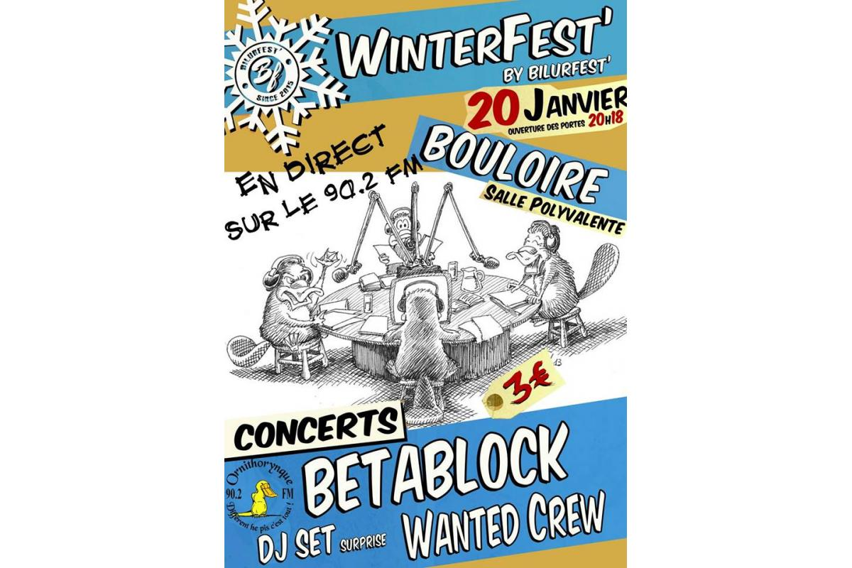 Affiche Radio Winterfest #1