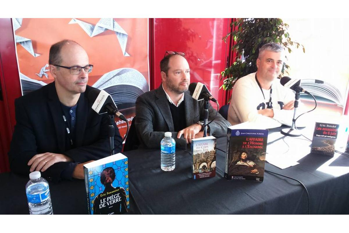 Eric Fouassier, Jean-Christophe Porte, Eric Rondel