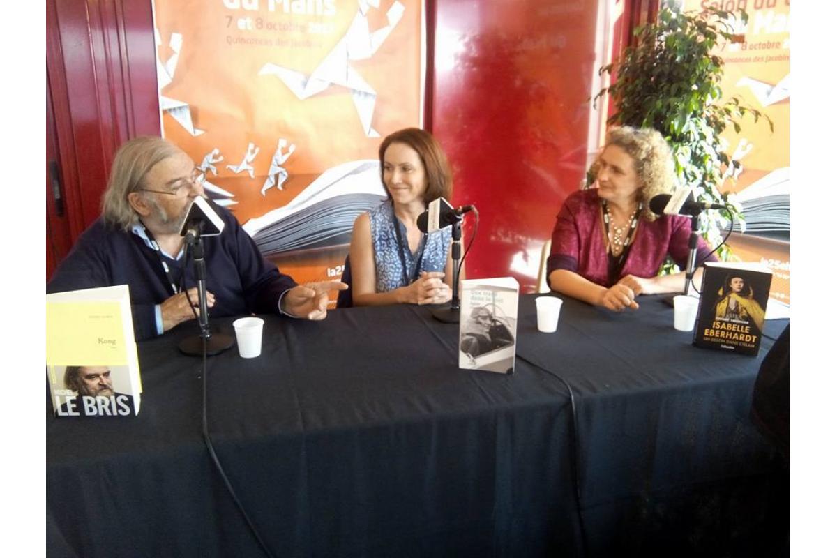 Michel Le Bris, Agnès Clancier, Tiffany Tavernier