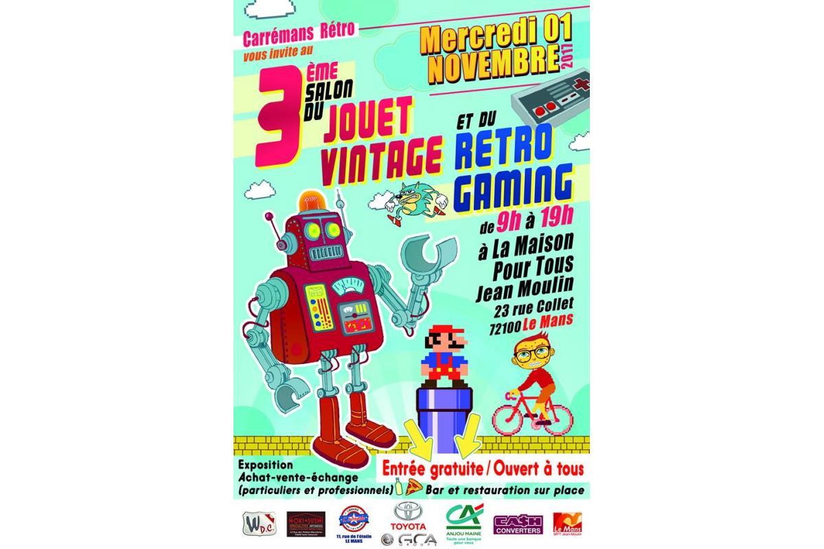 3e Salon du Jouet Vintage & Rétro Gaming