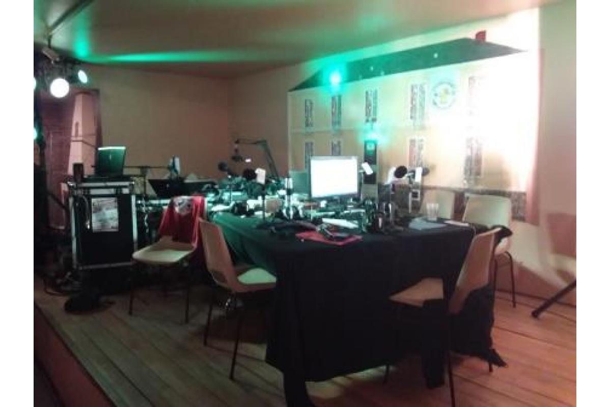 Le studio mobile au Bilurfest