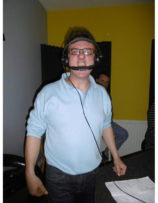 Ludo animateur sur la radio Ornithorynque