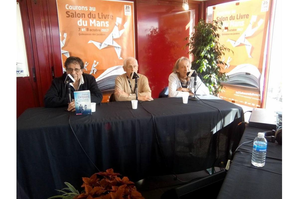 Salon du livre 2017 - Plateau Trésor de la Sarthe