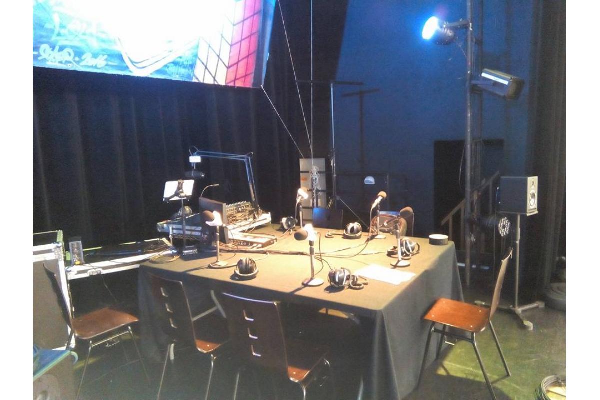Studio de la radio