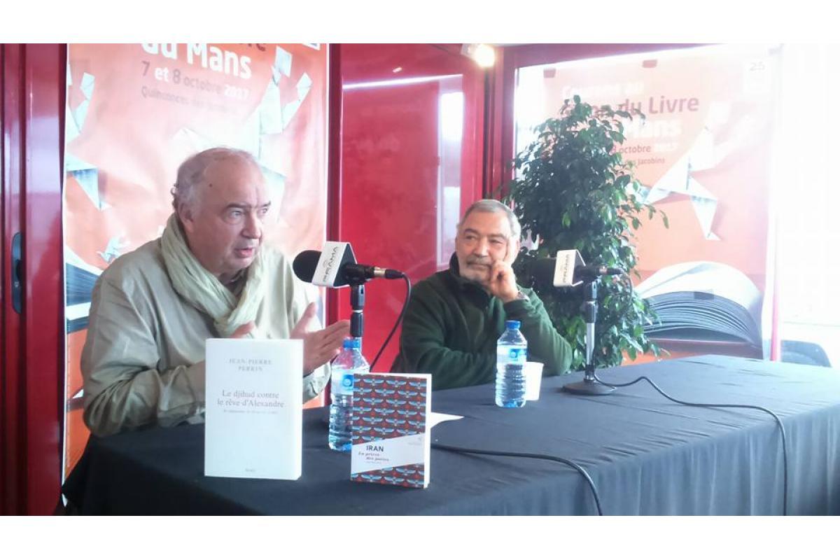 Jean-Pierre Perrin et Ali Erfan