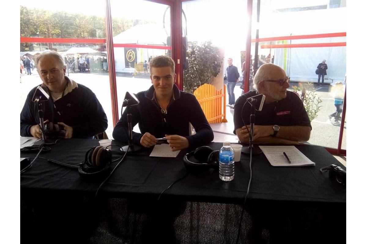 Patrice Dolo (Ornithorynque), Pierre Girault (Cartables FM), Eric Lucas (Fréquence Sillé)
