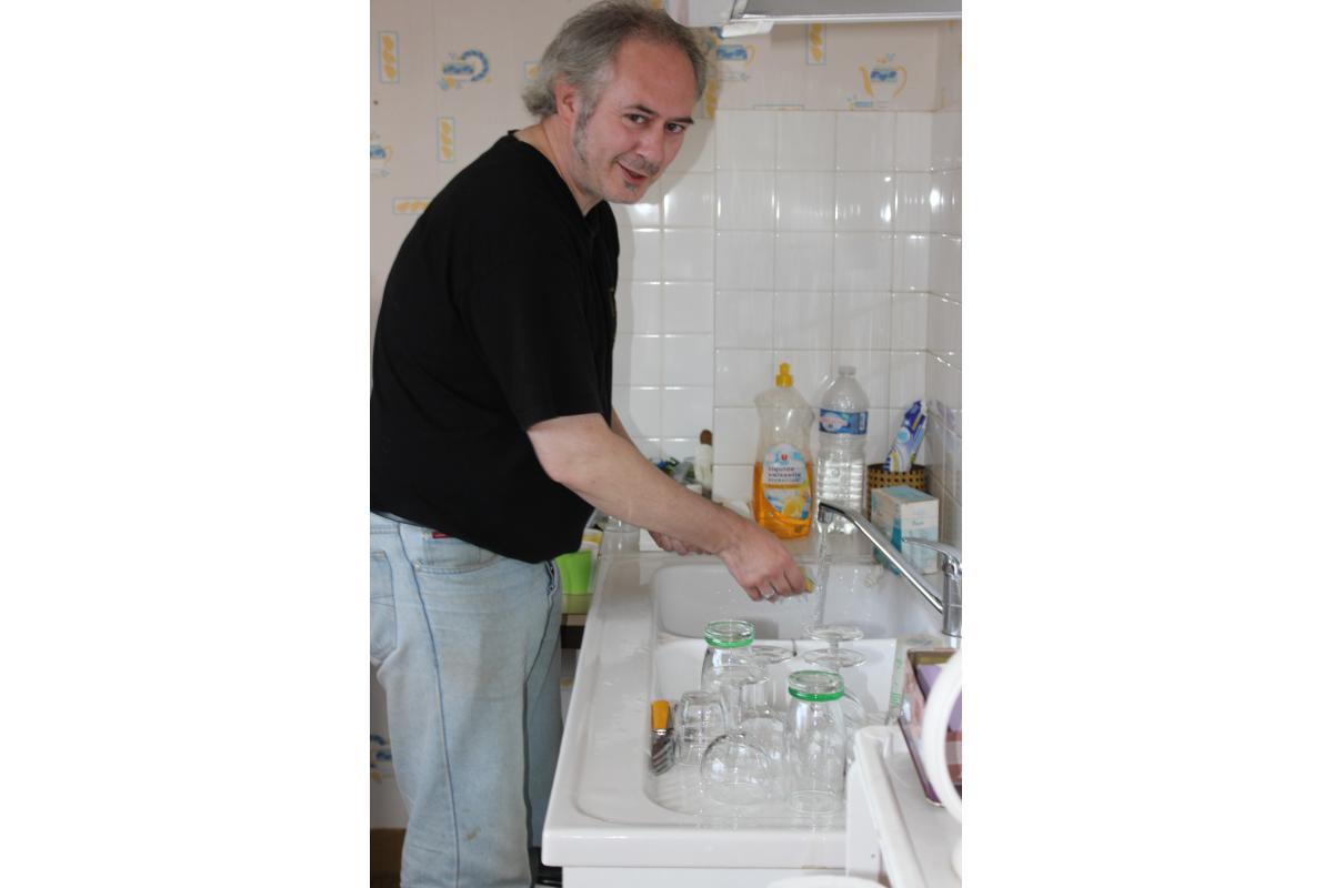 Portes ouvertes 2013 - patoche à la vaisselle