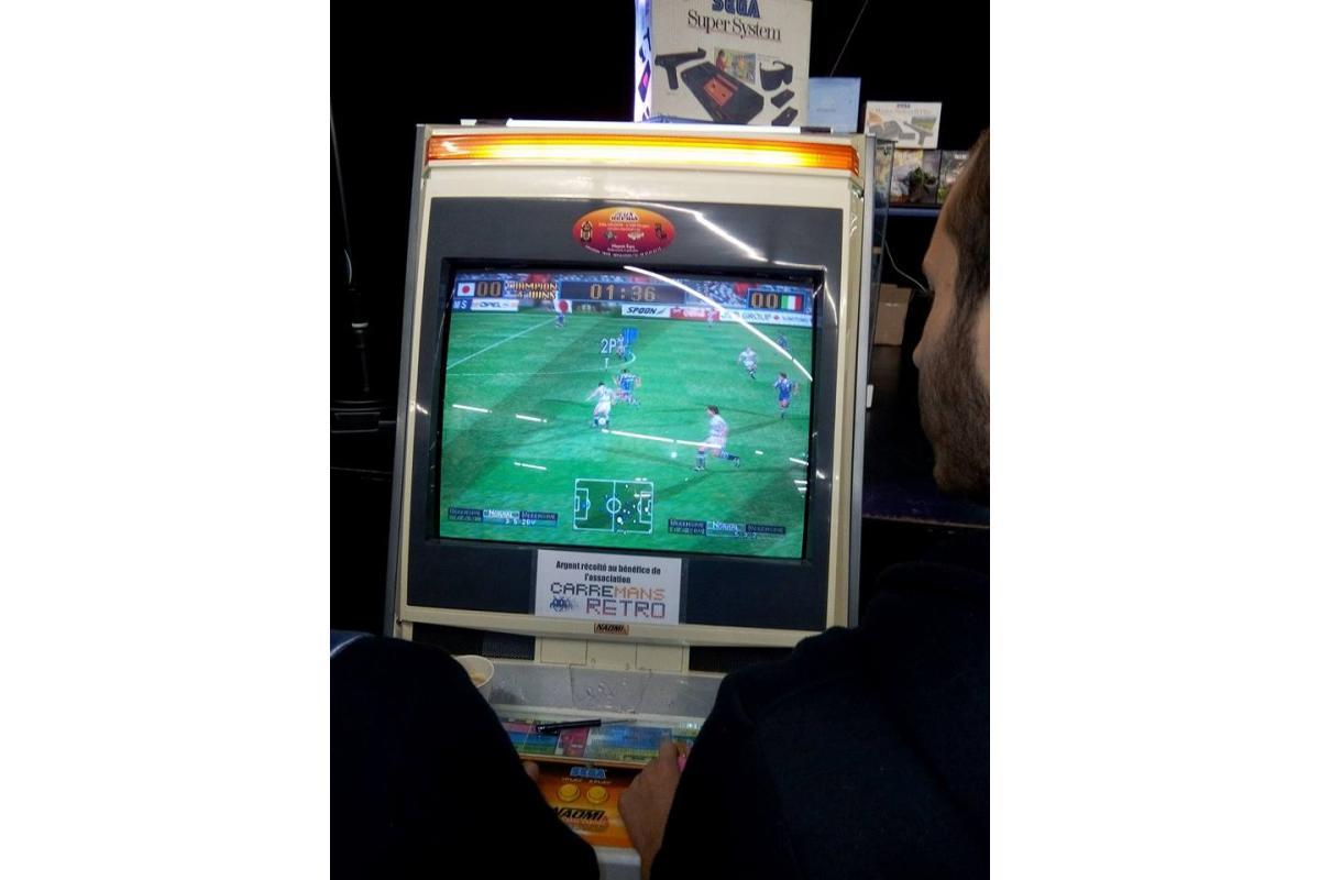 Des jeux et bornes d'arcades sont gratuits pour tous