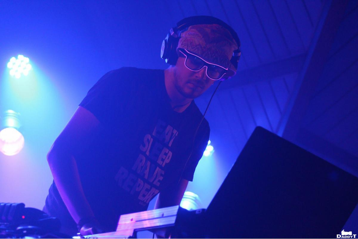 Le DJ Talbru Keymoon au Winterfest #1