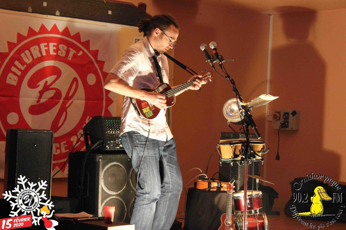 Roland Bernard et le ukuloops band