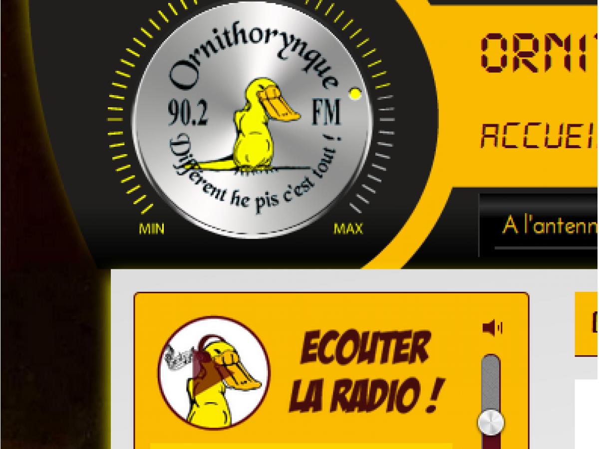Le nouveau site de la radio Ornithorynque à Bouloire 90.2