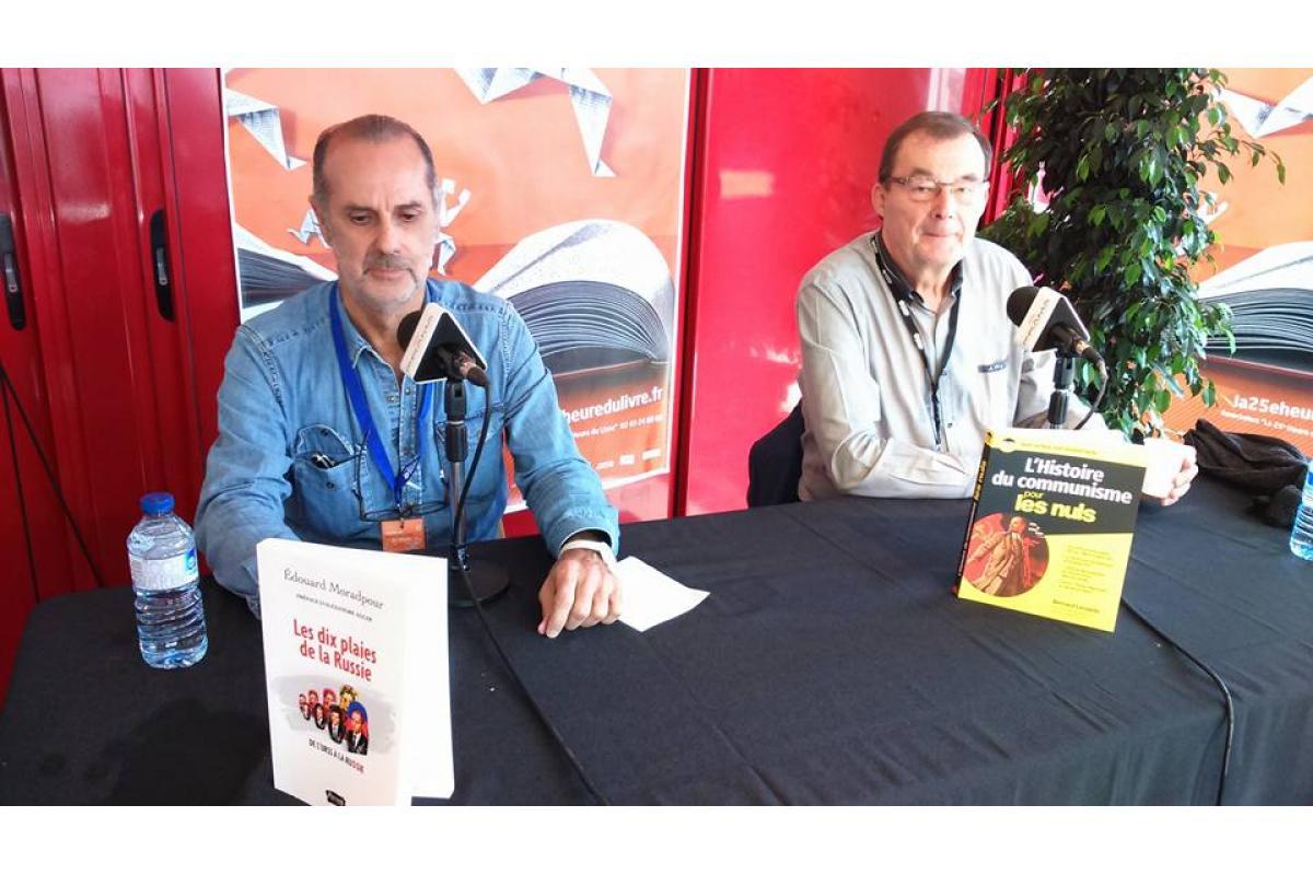 Edouard Miradpour et Bernard Lecomte