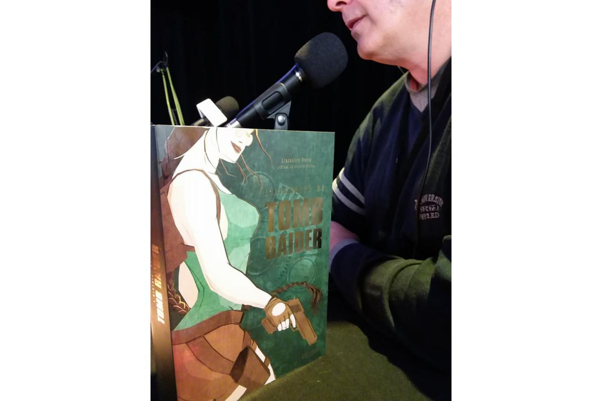Alexandre Serel pour l'histoire de Tomb Raider